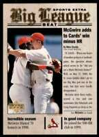 2000 Topps Big League Beat Mark McGwire St. Louis Cardinals #BB3
