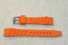ZRC Coloured Silcone Replacement Watch Strap compatible with ICE 17mm & 20mm