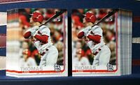 2019 Topps Update Lane Thomas RC Rookie Lot x2 #US227 St. Louis Cardinals