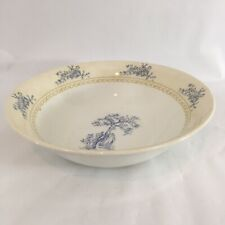 "Queens HRP Historic Royal Palace Toile de Jouy England 9.5"" Dinner Serving Bowl"