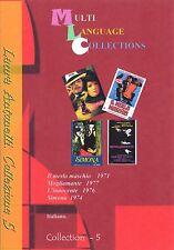 Laura Antonelli. Collezione 5 di 4 film. NO Subtitles 4 movies collection 5.