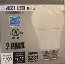 TorchStar A21 LED dimmable bulb 1700Lumens 100W NEW ONE BULB