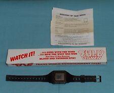 video store promo promotional ZULU DAWN WATCH wristwatch