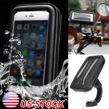 New Waterproof Phone Case Bag Mount Holder For Motorcycle Bike Bicycle Rear View
