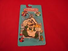 Super Mario Bros. Luigi Nintendo NES Keychain 1989 Ace Novelty *BRAND NEW* RARE