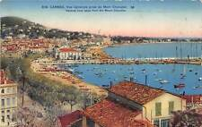 br107314 general view from mont chavalier cannes france