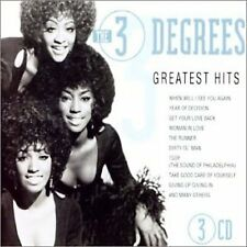 THE THREE DEGREES - GREATEST HITS [GOLDIES] NEW CD