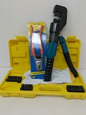 Blika 10 Ton Hydraulic Wire Battery Cable Lug Terminal Crimper Crimping Tool 9