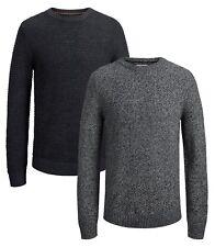 JACK & JONES New Men's Dale Knit Regular Fit Cotton Jumper Crew Neck Sweater