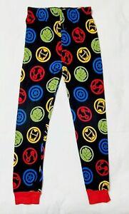 SZ 8 Boys Avengers Pajama Bottoms Batman  Hulk Iron Man Captain America 3 20'L
