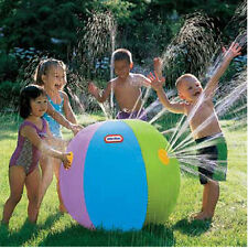 Kids Summer Outdoor Swimming Beach Inflatable Ball Water Fountain Eager