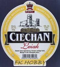 Poland Brewery Ciechanów Ciechan Leżak Beer Label Bieretikett Cerveza ci90.1