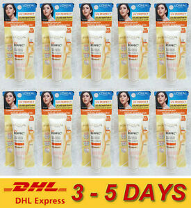 10 x 15ml. LOREAL UV PERFECT PROTECTION LONGLASTING SPF 50 PA+++ EVEN COMPLEXION