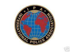 IPA INTERNATIONAL POLICE ASSOCIATION IPA Polizei Aufkleber für dein Kfz