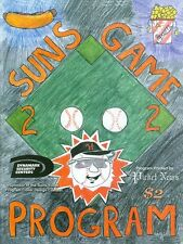 """2002 Hagerstown Suns Program: Francisco Liriano Giants """"A"""" Affiliate"""