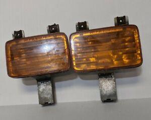 rare 82-84 BERLINETTA Camaro amber  Turn Signal Lamp Assembly Set