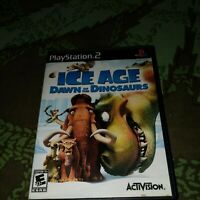 Ice Age: Dawn of the Dinosaurs (Sony PlayStation 2, 2009) Tested! Complete! CIB