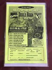Marvel Top Cow Devil's Reign Order Flyer Ghost Rider Wolverine Witchblade NM