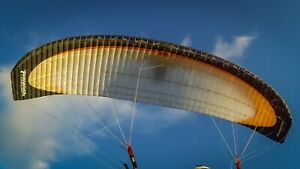 Paramania Fusion 26m paramotor wing for sale.  346 hours from new, one careful o