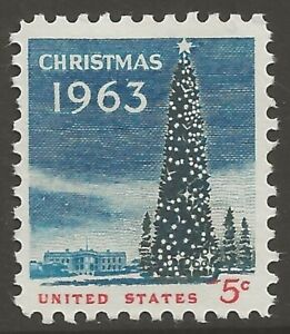 U.S. #1240 5¢ National Christmas Tree MINT-NH VF