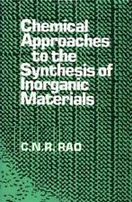 Chemical Approaches to the Synthesis of Inorganic Materials