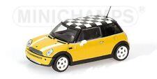 Mini One 2001 gelb 1:43 Minichamps neu & OVP 431138104