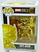 Ant Man #384 Gold Chrome Marvel Studio's 10th Anniversary Funko Bobble Head