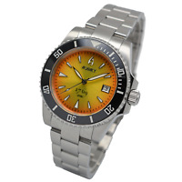 Aquacy 1769 Hei Matau Mens Automatic 300M Dive Watch Sunburst ETA SWISS MOVEMENT