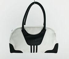 ADIDAS DAMEN HAND TASCHE LADIES BOWLING BAG SPORT FITNESS Black White 3 Stripes