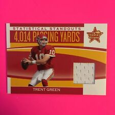 2006 Leaf Rookies & Stars Statistical Standouts Mat.Chiefs Card #SS2 Trent Green