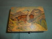 "VINTAGE ""THORENS A128"" SWISS SWITZERLAND MUSIC BOX ~ TALES OF THE VIENNA WOODS"