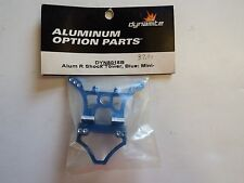 DYNAMITE - ALUMINUM REAR SHOCK TOWER, BLUE: MINI-T - MODEL# DYN8018B
