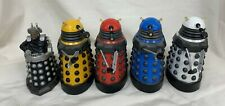 Bundle of 5 Vintage Collectible Daleks Blue Red Yellow White 1963-1975 #898