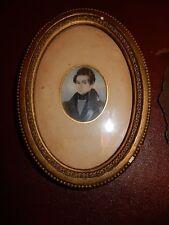 More details for 1850s miniature  a sunderland man perhaps original split  condition to restore