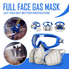 Full Face Gas Mask Cover Spraying Paint Chemical Comprehensive Respirator Mask