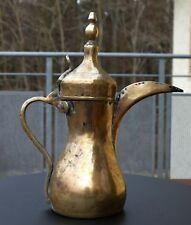 Arabische antike Schnabelkanne - Mokka - Kaffeekanne aus Messing mit Punze !!!
