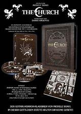 Leatherbook THE CHURCH Mediabook / Michele Soavi BLU-RAY DVD LIMITED HOLZBOX Neu