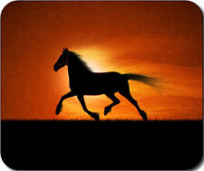 Horse Silhouette Large Mousepad Mouse Pad Great Gift Idea