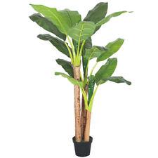Banano Pianta Artificiale Plastica con Vaso 190cm Bosco Naturale Decovego