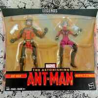 ANT-MAN and STINGER Marvel Legends 6-in Action Figure 2-Pack TRU Exclusive