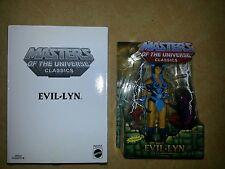 Evil Lyn seltene Zweitauflage 2nd MOTU Masters of the Universe Classics NEU RAR