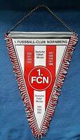 *RAR* Orig. Großer 40 cm Wimpel 1.FC Nürnberg Bundesliga Fussball FCN Club DFB