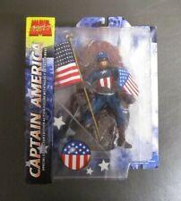 Captain America w Flag MARVEL SELECT DIAMOND Special Collector Edition MIB GV