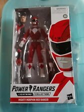"""New listing Red Ranger Mighty Morphin Power Rangers Lightning Collection 6"""" Figure 2019"""