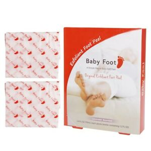 Baby Foot Lavender Scented Exfoliant Foot Peel 2.4 Fl. Oz. 1 Pair 2 Booties