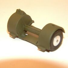 Corgi Toys 1104 1131 1135 Low Loader Rear Wheels Axle Army Green