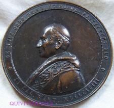 MED6901 - MEDAILLE LEON XIII - 1893 DOMINICUS & SERAPHICUS  FRANCISCUS - vatican
