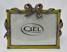 Hand Made Bowtique Frames By Ciel Collectables. Hand Done Enamel & Crystals