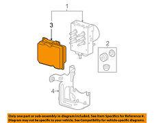 GM OEM ABS Anti-Lock Brake System-Control Module 20896914