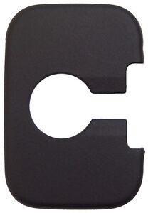 Cadillac & Corvette Door Lock Striker Cover Black New OEM 12789058